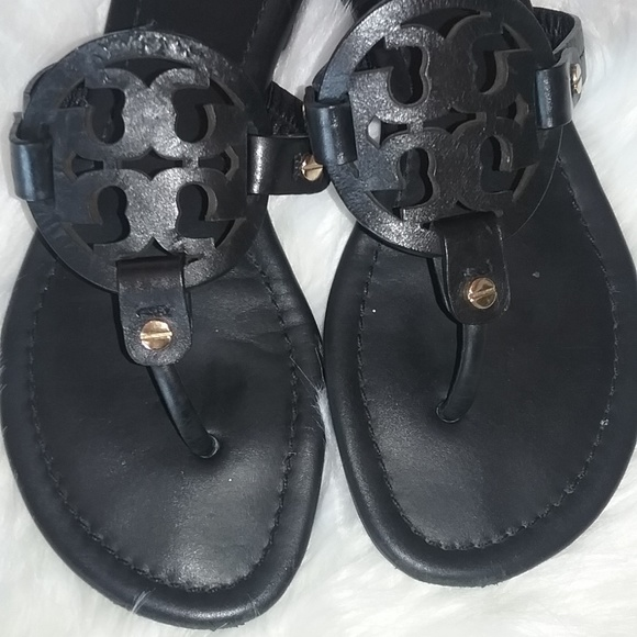 Tory Burch Shoes - Tory Burch Miller Sandals Black